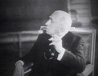 Emil Hácha, foto: ČT (Documento 'Heydrich - la solución final')