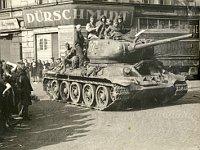 Einmarsch der Sowjet-Armee 1945 (Foto: Archiv der Stadt Ústí nad Labem)
