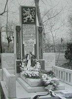 Osm našich padlých z23.1.1920 odpočívá vhrobě vCharbinu, Čína, foto: Ministerstvo obrany ČR