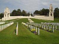 Hřbitov padlých vojáků vEtaples - Pas de Calais, Francie, kde jsou uloženy ostatky dvou československých vojáků, foto: Ministerstvo obrany ČR