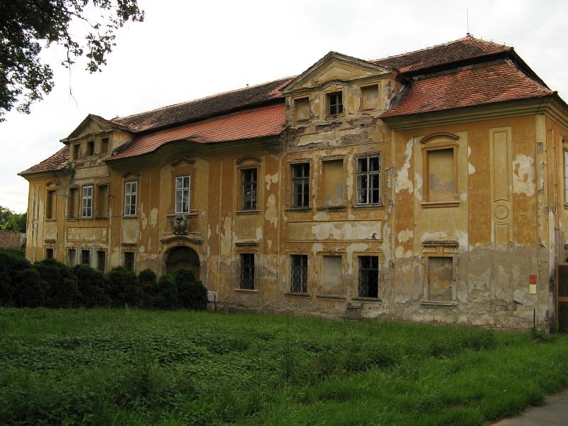 Skrýšov, замок в частном владении, фото: Sovicka169, CC BY-SA 3.0