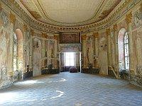 Uherčice chateau, photo: Podzemnik, CC BY-SA 3.0