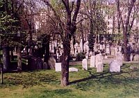 Jüdischer Friedhof in der Fibich-Straße (Foto: http://zidovskehrbitovy.wz.cz)