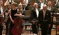 Lia Vielhaber mit dem Prager Rundfunksymphonieorchester (Foto: Archiv des Tschechischen Rundfunks)