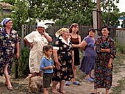 Krajané vBorodinovce, červen 2006, foto: Pavel Dymeš