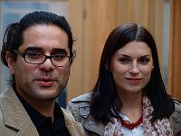 Мариос Христу, Директор Международного фестиваля православной музыки Archaion Kallos, с супругой Анной (Фото: VitVit, Wikimedia Commons, License CC BY-SA 3.0)