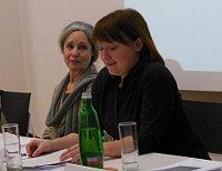 Táňa Fischerová und Veronika Janýrová (Foto: Archiv der Stiftung Unruhe)