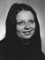 Ivanka Lefeuvre en 1977, photo: Archives d'Ivanka Lefeuvre