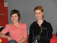 Lucie Trnková and Lucie Kutálková, photo: Marie Třešňákova, CT24