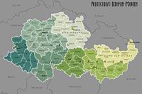 Protektorat Böhmen und Mähren (Karte: XrysD, Creative Commons 3.0)