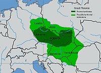 Großmährisches Reich (Quelle: Jirka.h23, Wikimedia Commons, License CC BY-SA 3.0)