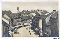 Город Кладно, 1921г., Фото: открытый источник
