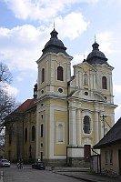 Kirche des Heiligen Georgius in Kostelec nad Orlicí (Foto: Radek Bartos, CC BY-SA 3.0 Unported)
