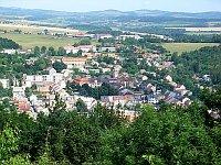 Žlutice - pohled zkopce Nevděk, foto: AHZ, CC BY-SA 3.0 Unported