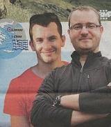 Martin Pezlar und Ivan Buchta (Foto: Lidové noviny, 21. 11. 2012)