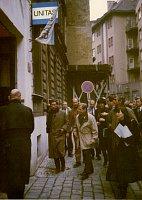 Le 22 décembre 1992, le Prince Charles est venu ici, accompagné par Václav Havel, photo: Unitas House