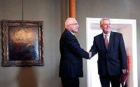 Václav Klaus et Miloš Zeman, photo: Archive de Bureau du président de la République tchèque