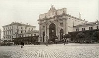 Здание вокзала Прага-Тешнов