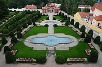 Сад Чернинского дворца (Фото: Йиндржих Рамбоусек, Архив Министерства иностранных дел ЧР)