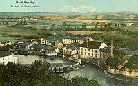 Historische Ansicht 1910 (Foto: Fotoarchiv Benátecka (Nr. 3))