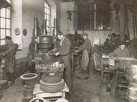 Historische Ansicht 1924 (Foto: Fotoarchiv Benátecka (Nr. 3))