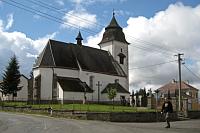 Kirche in Číhošť (Foto: Tomáš Vodňanský, Archiv des Tschechischen Rundfunks)