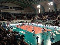 Volley-Ball  à Tours, photo: Jan Kaliba, ČRo
