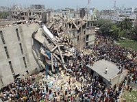 Rana Plaza, photo: Facebook de la campagne 'Ušili to na nás !