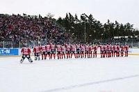 Open-Air-Spiel: HC Eaton Pardubice nach dem Spiel (Foto: Jan Jedlička, HC Eaton Pardubice)