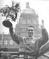 Bohumil Modrý nach der Weltmeisterschaft in 1949 (Foto: Archiv des Pavel Victorin)
