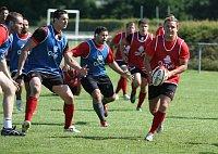 Lukáš Rapant (au milieu), photo: Site officiel du club Oyonnax