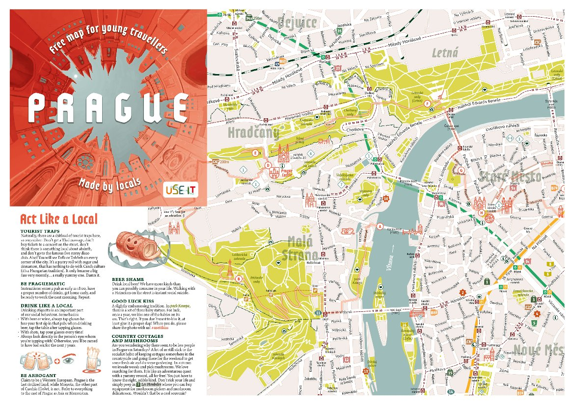 New edition of Prague USE-IT map shares tips from locals ...