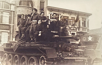 The soldiers of Czechoslovak Armoured Brigade