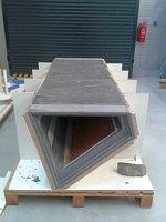 Základem lavičky je odlitek ze speciální betonové směsi, foto: oficiální facebook Univerzitního centra energeticky efektivních budov ČVUT