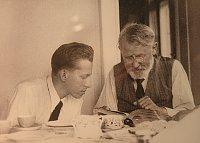 Отто Вихтерле и его профессор Эмиль Воточек (Фото: Архив Академии наук ЧР)