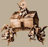 Le transfert de la Santa Casa par les anges, photo: loreta.cz