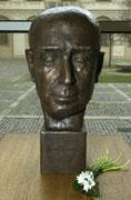 Bust of Jan Masaryk, photo CTK