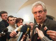 Miloš Zeman, foto ČTK