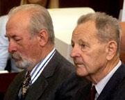 Jozef Lenart et Milous Jakes, photo: CTK