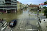 Surroundings of Metro Station Florenc, Photo:CTK