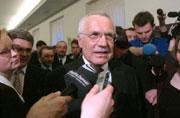 Вацлав Клаус - новый президент Чехии, фото ЧТК