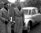 Miroslav Zikmund and Jiri Hanzelka (right) in 1949, photo: CTK