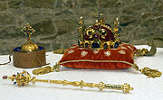 Bohemian crown jewels, photo: CTK