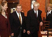 Vaclav Havel celebrated his 67th birthday, photo: CTK