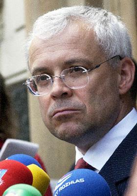 Prime Minister Vladimir Spidla, photo: CTK