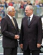 Ivan Gasparovic and Vaclav Klaus, photo: CTK