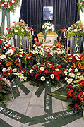 The funeral of Ivan Hlinka, photo: CTK