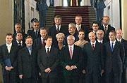 Neue tschechische Regierung (Foto: CTK)