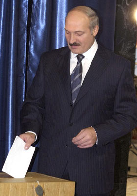 Aleksander Lukashenko, foto: CTK
