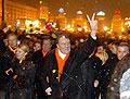 Виктор Ющенко на демонстрации в Киеве (Фото: ЧТК)